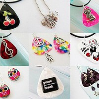 cool guitar pick jewelry and more for the rockstar in all of us!