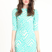 Mint Tracer Dress - $39.00 : ThreadSence.com, Your Spot For Indie Clothing & Indie Urban Culture