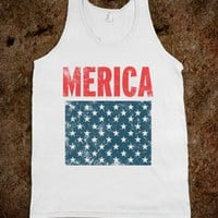 White Tank | Fun Patriotic Shirts