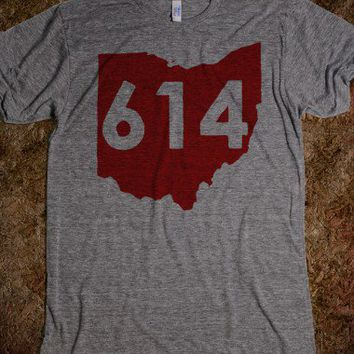 The 614-Unisex Athletic Grey T-Shirt