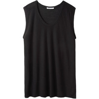 T by Alexander Wang Slub Muscle Tee