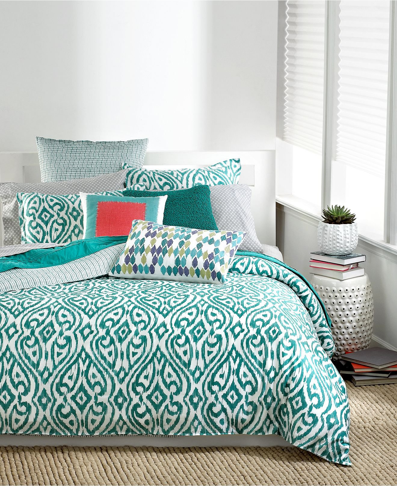 Bar III Bedding, Tali Collection - from Macys