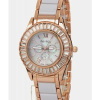 White Rose Gold Watch