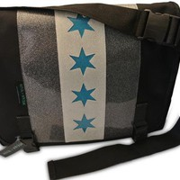 Sink or Swim Deville Chicago Messenger Bag Accessories Bags at Broken Cherry