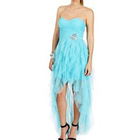 Devon-Turquoise Prom Dress