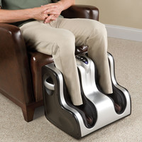 The Heated Circulation Enhancing Lower Leg Massager - Hammacher Schlemmer