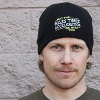 May The Mass x Acceleration Beanie | SnorgTees
