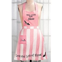 Aprons with Attitudes Will Cook for Shoes
