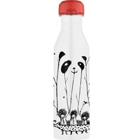 Thermos + Threadless 24-Ounce Hydration Bottle, Fake Pandas Have More Fun