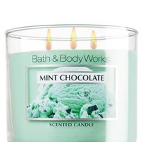 Mint Chocolate 14.5 oz. 3-Wick Candle   - Slatkin & Co. - Bath & Body Works