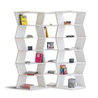 B-LINE Zig-Zag Modular Bookcase   — Bookcases -- Better Living Through Design