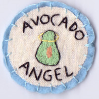 Avocado Angel Patch