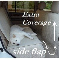 "Deluxe Quilted and Padded seat cover for Pets - One Size Fits All 56""Wx94""L Taupe:Amazon:Pet Supplies"