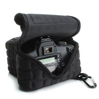 FlexARMOR X Neoprene Camera Bag Carrying Case for CANON EOS Rebel T5i , T4i, T3i , T3 , 100D , 700D , 6D , SL1 & More DSLR Cameras **Includes Bonus Cleaning Brush**
