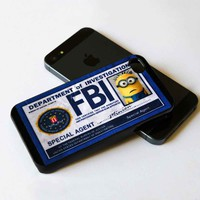 Minion FBI na iPhone 5 BLACK case