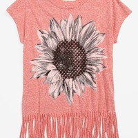 Soprano Cap Sleeve Tee (Big Girls) | Nordstrom