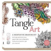 Tangle Art: A Meditative Drawing Kit: Includes archival pens, paper tiles, and a beautiful instruction book to get you started! [Hardcover]
