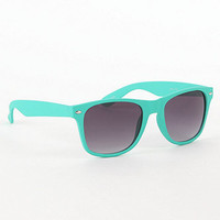 With Love From CA Turquoise Bright Sunglasses at PacSun.com