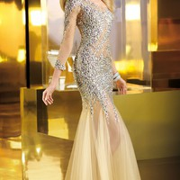 Alyce Claudine Collection 2254 Dress