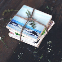 DIY Reversible Instagram Coasters - Free People Blog
