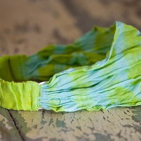 Hair  Accessories:  Tie-Dye  Handkerchief  Headbands  |  Natural  Life
