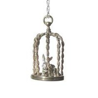 Digby &amp; Iona: Caged Rabbit Necklace