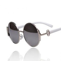 Simple Round lens Sunglasses for Summer TW021