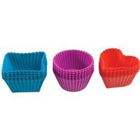 silicone baking cup set - 18 pcs | Nood Furniture & Design