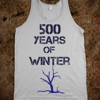 500 YEARS OF WINTER