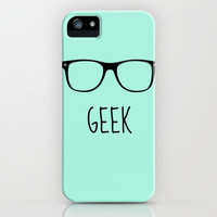 GEEK IN MINT iPhone & iPod Case by colorstudio