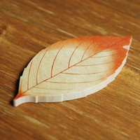 Fall Leaf Sticky Note