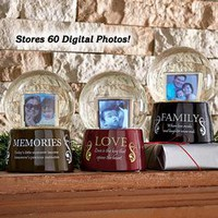 Digital Photo Album Snow Globe @ Fresh Finds