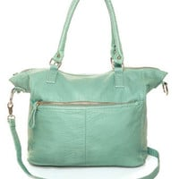 Mint Handbag - Vegan Leather Purse - &amp;#36;42.00