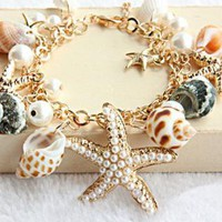 Ocean Beach Holiday Bracelet for Summer