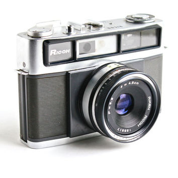 Vintage Ricoh 300 S Camera - 35mm 1950s Riken Optical Industries Photography / Classic Camera
