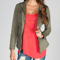 FULL TILT Twill Womens Anorak Jacket