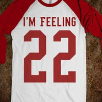 FEELING 22 BASEBALL TEE TSHIRT