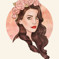 Lana IV Art Print by Helen Green