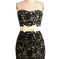 Lace of Your Own Dress in Black | Mod Retro Vintage Dresses | ModCloth.com