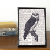 Vintage Owl Book Print | Folly Home | Design-led Gifts, Home wares, Vintage Finds