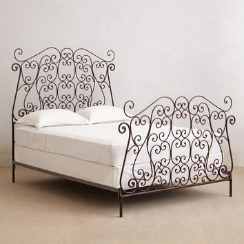 Autumn Filigree Bed