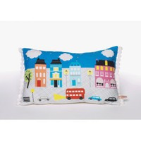 London At Night Cushion | Folly Home | Design-led Gifts, Home wares, Vintage Finds