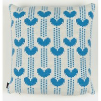 Garden Centre Cushion In Blue | Folly Home | Design-led Gifts, Home wares, Vintage Finds