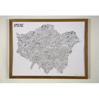 Word Map Of London | Folly Home | Design-led Gifts, Home wares, Vintage Finds