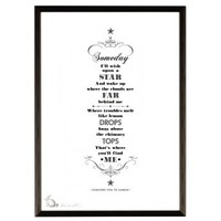 Someday I'll Wish Upon A Star Print | Folly Home | Design-led Gifts, Home wares, Vintage Finds