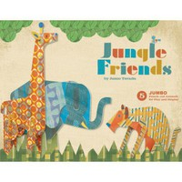 Jungle Friends Punch Out Animals | Folly Home | Design-led Gifts, Home wares, Vintage Finds