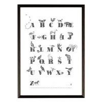 Animal ABC Print | Folly Home | Design-led Gifts, Home wares, Vintage Finds
