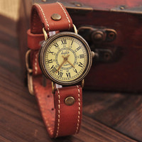 Fashion Ms retro watch old Roman dial watch,retro watch