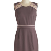 Mocha Mornings Dress | Mod Retro Vintage Dresses | ModCloth.com