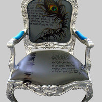 Jimmie Martin Ltd PEACOCK ARM CHAIR
